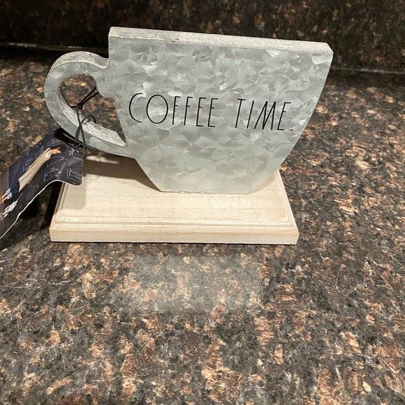 Rae Dunn Coffee Time Shelf Sitter